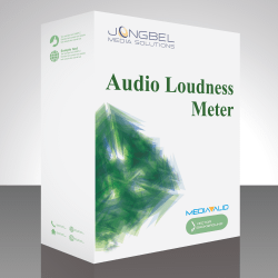 Audio Loudness Meter Box